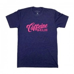 T-shirt storm script logo T for men - CAFFEINE AND KILOS