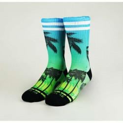 Chaussettes Multicolor Miami V2 pour Athlète - WODABLE
