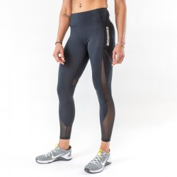 Training legging Black MESH for women - THORUS WEAR