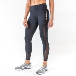 Legging ajouré femme noir pour athlète by THORUS WEAR