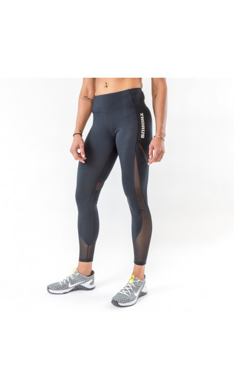 3ad4e90f8 Women workout legging THORUS WEAR black MESH model