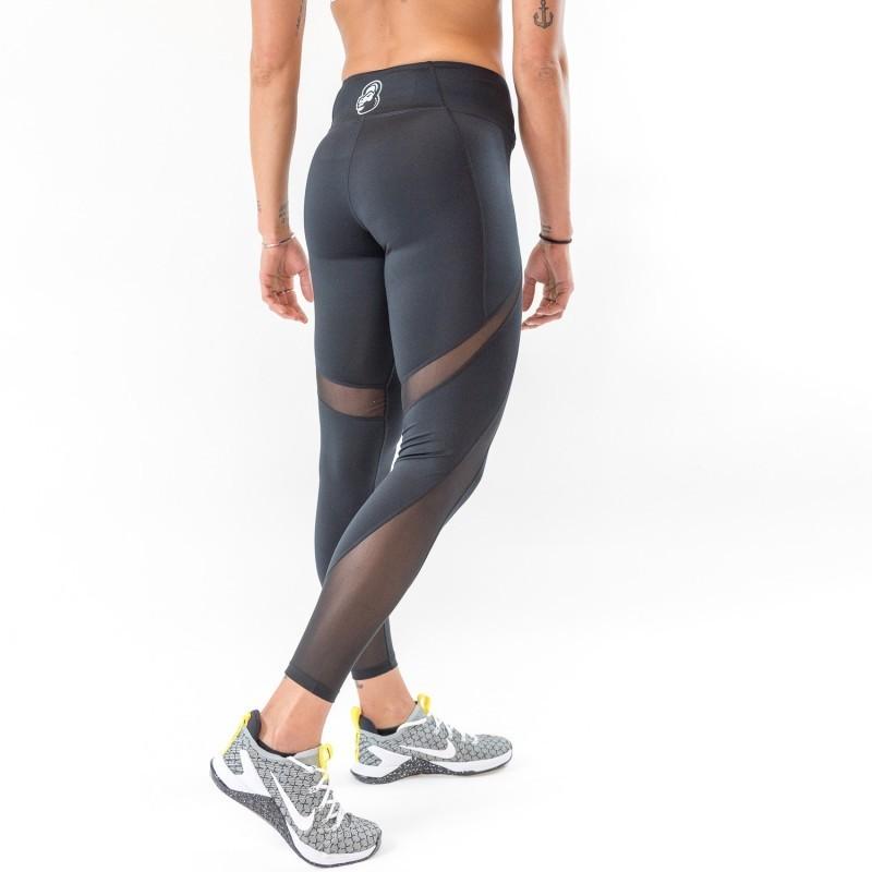 d4d6cd737 ... Legging AJOURE Femme noir pour athlète by THORUS ...