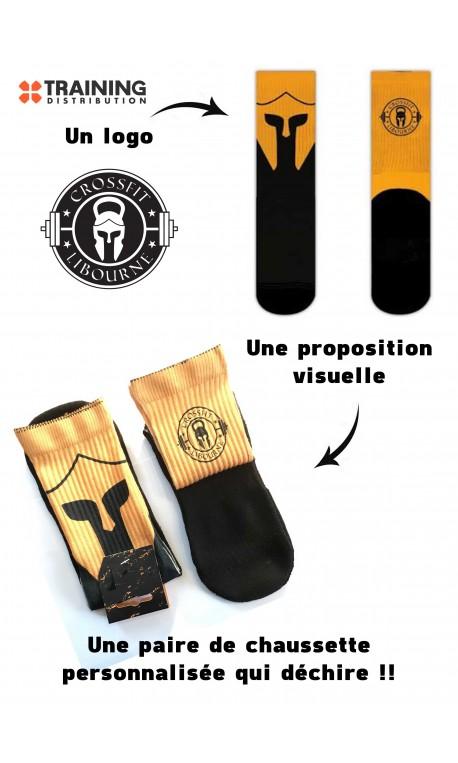 Pack de 75 Paires de chaussettes personnalisées