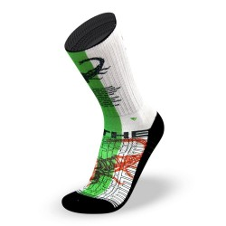 White workout Socks SCORPION- LITHE APPAREL