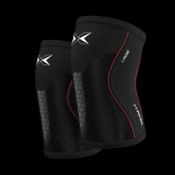 7 mm pair of Knee Black Hex Tech - PICSIL