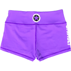 Training short purple for women - SAVAGE BARBELL