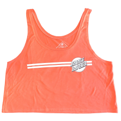 Training crop top orange CREAMSICLE RETRO SAVAGE for women - SAVAGE BARBELL