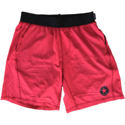 Short homme rouge GYM RAT pour athlète by SAVAGE BARBELL