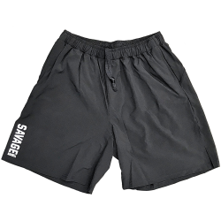 Short homme noir COMPETITION SAVAGE BARBELL