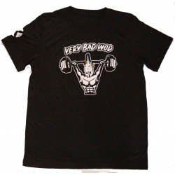 T-shirt black UNICORN SOLDIER for men - VERY BAD WOD