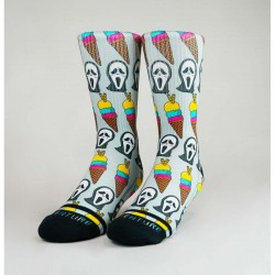 Chaussettes Grises ICE SCREAM WODABLE