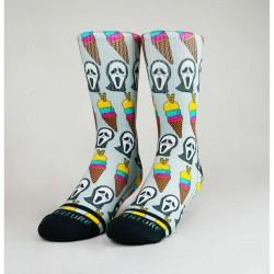 Grey workout Socks ICE SCREAM  V2 – WODABLE