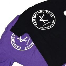 T-shirt black SENDERS for men - CAFFEINE AND KILOS
