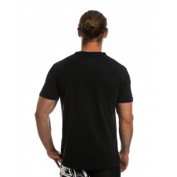 T-shirt black POWER UP for men - NORTHERN SPIRIT