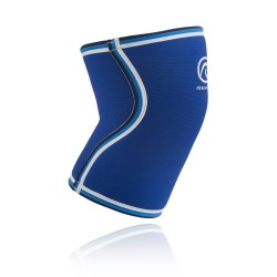 7 mm pair of Knee Sleeves Blue Original RX - REHBAND