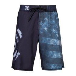 Boutique sport Short Homme - USA FLAG grisé