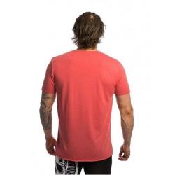 T-shirt pink raw edge B&B for men - NORTHERN SPIRIT