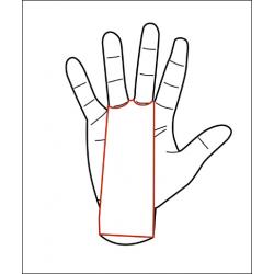 2 holes Black Grips EAGLE - PICSIL
