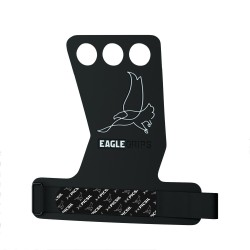 3 holes Black Grips EAGLE - PICSIL