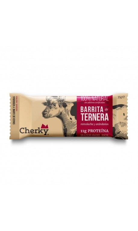 Beef protein bar (cranberries & betroot) - CHERKY