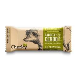 Barre protéinée Porc (pomme & moutarde) pour Athlète by CHERKY