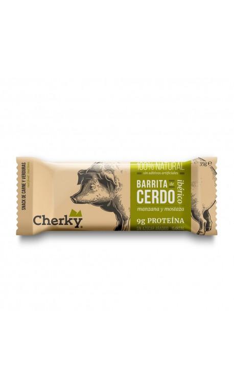 Porc protein bar (apple & mustard) - CHERKY
