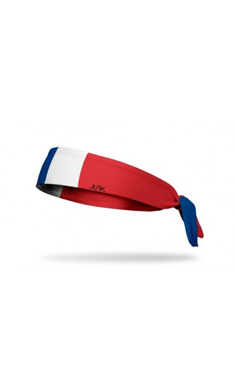 Multicolor workout headband FRANCE FLA - JUNK