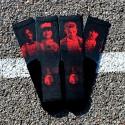 Black workout Socks X RAY SKULL - LITHE APPAREL