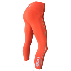 Legging femme ORANGE CRUSH pour athlète by SAVAGE BARBELL