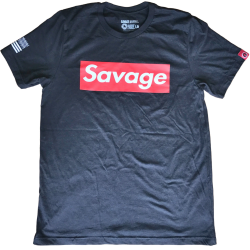Tee-Shirt homme SAVAGE BOX pour athlète by SAVAGE BARBELL