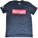 T-shirt SAVAGE BOX for men - SAVAGE BARBELL