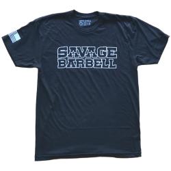 T-shirt black SUICIDE SQUAD for men - SAVAGE BARBELL