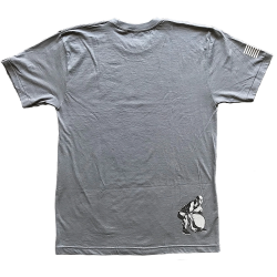 T-Shirt homme gris STONER pour athlète by SAVAGE BARBELL