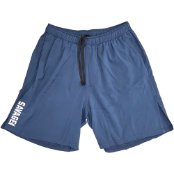 Short homme Bleu Navy COMPETITION pour athlète by SAVAGE BARBELL