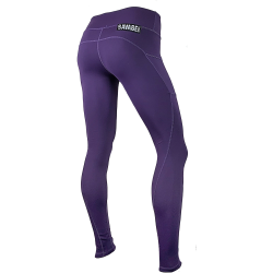 Legging femme violet PLUM pour athlète by SAVAGE BARBELL
