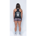 Training tank black SUICIDE SQUAD for women - SAVAGE BARBELL