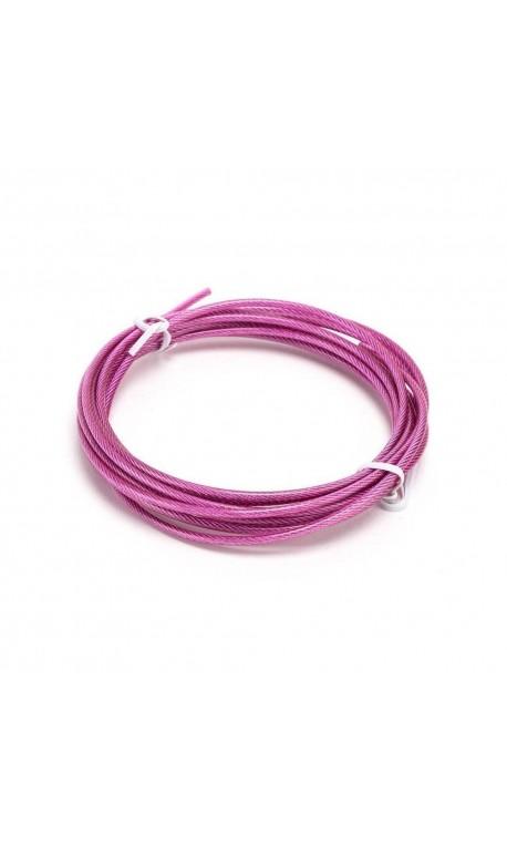 Câble corde à sauter Noir 1.8 mm pour Athlète by XOOM PROJECT
