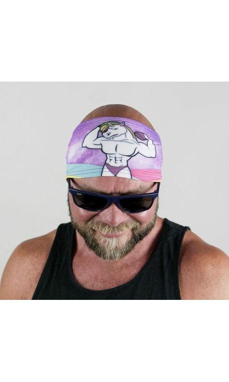 Multicolor workout headband AMERICAN BAND - WODABLE