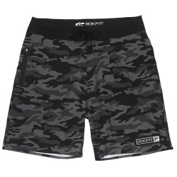 Short grey camo NIGHT OPS for men - ROKFIT