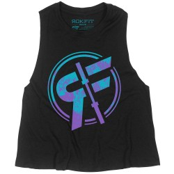 Muscle tank noir THE OFF ROAD pour Athlète by ROKFIT