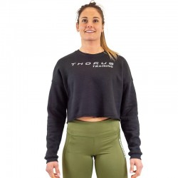 Training short cut sweat black for women - THORUS WEAR