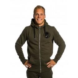 Sweat à capuche vert Homme 2 BLACK SKULL pour athlète by NORTHERN SPIRIT
