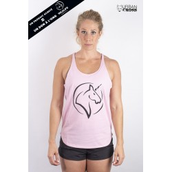 Training tank dark grey UNICORN for women - URBAN CROSS