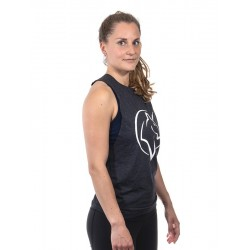 Training muscle tank dark grey UNICORN for women - URBAN CROSS