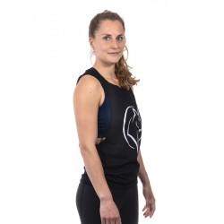 Training muscle tank black UNICORN for women - URBAN CROSS