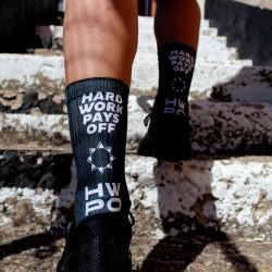 Black workout socks HWPO - LITHE APPAREL