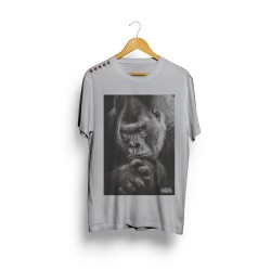 T-shirt Grey silver black for men - LITHE APPAREL