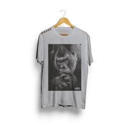 T-Shirt homme gris SILVER pour athlète by LITHE APPAREL