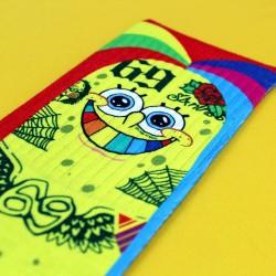 Multicolor workout socks BOB NINE - LITHE APPAREL