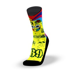 Multicolor workout socks BOB NINE - LITHE APPAREL